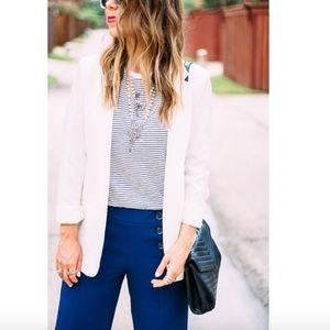 H&M Classic white blazer jacket